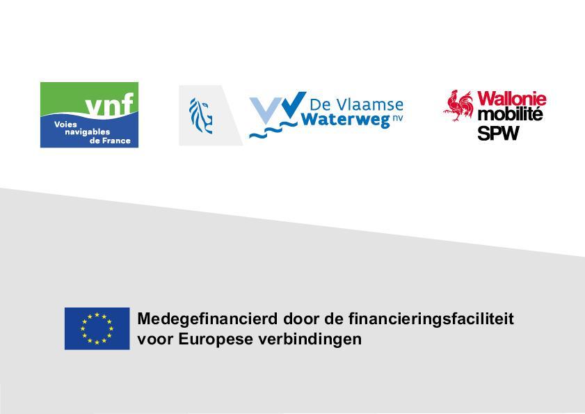 De Franse, Vlaamse en Waalse overheden werken met de EU aan Seine Schelde