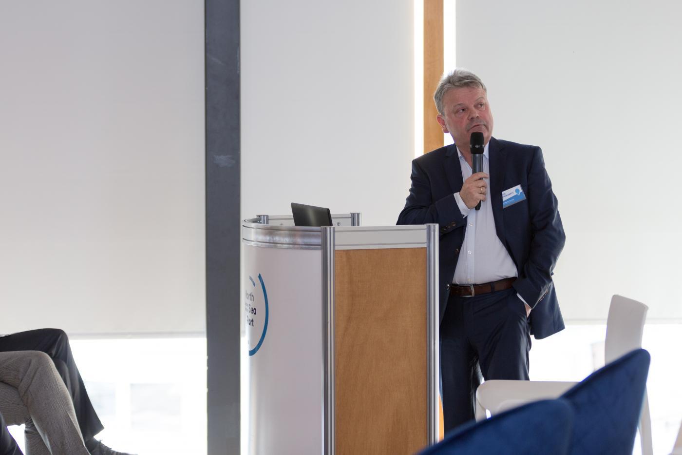 Chris Danckaerts, gedelegeerd bestuurder van De Vlaamse Waterweg nv