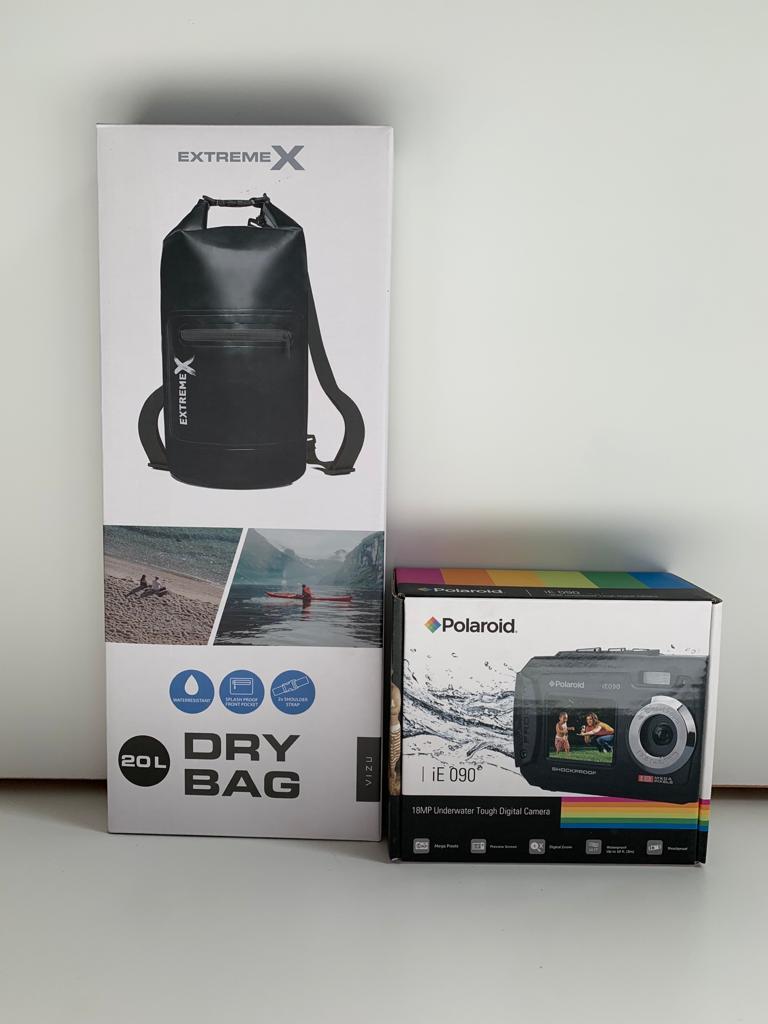 Prijzen: waterdichte rugzak én camera